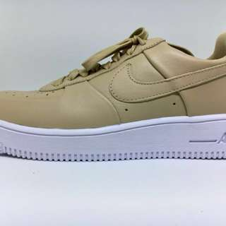 """NIKE AIRFORCE 1 ULTRAFORCE LEATHER """"LINEN WHITE"""""""