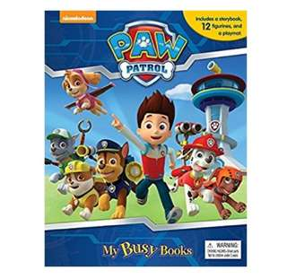 🚚 (In Stock)  Paw Patrol My Busy Book