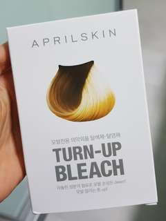 🚚 CHEAPEST INSTOCK APRILSKIN TURN UP BLEACH FROM KOREA