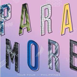 Lower Box A - Paramore Tour Four Tickets