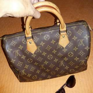 Authentic LV papillon damier