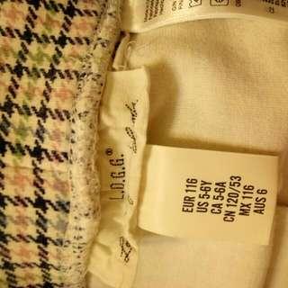 H&M. 褲子   5~6歲110cm左右  8成新