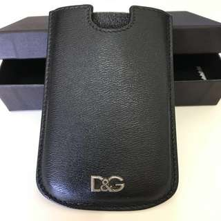 DOLCE & GABBANA iPhone5/5s 真皮手機套(含運)