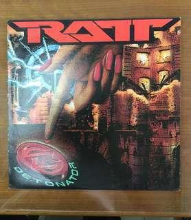 RATT (Detonator) Vinyl Record (Piring Hitam)