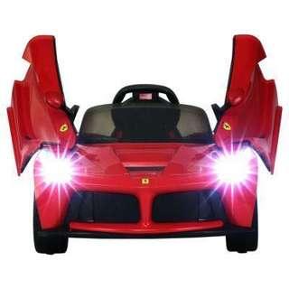 全新原廠正貨LaFerrari 紅色 12V