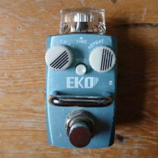 Hotone Skyline Series Eko Analog-Digital Delay Guitar Effects Pedal