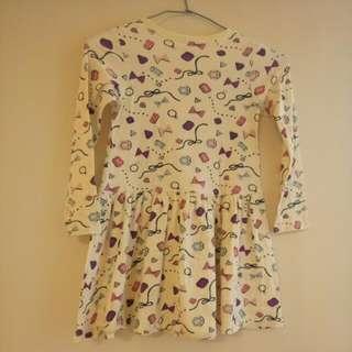 日本購買  洋裝 110cm.  7 成新  含運