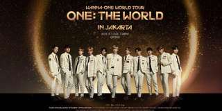 Wanna One World Tour Ticket (One : The World) in Jakarta