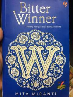 Novel bitter winner by mita miranti