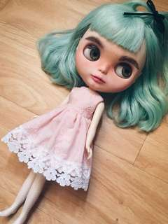 Blythe Doll Peach Dress