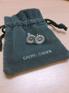 Georg Jensen earrings daisy