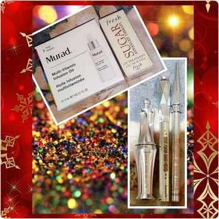 Murad, Fresh and Benefit Cosmetics