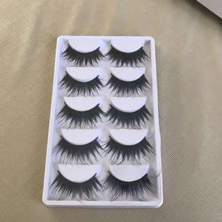 Very dramatic lashes
