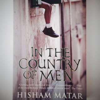🔥SALE! In the Country of Men by Hisham Matar