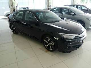 HONDA ALL NEW CIVIC 1.5 L TURBO 2018 BRIO MOBILIO JAZZ CRV BRV HRV CITY CIVIC ACCORD ODYSSEY CR-V BR-V HR-V HATCHBACK S E RS MT AT TURBO PRESTIGE CVT 2018