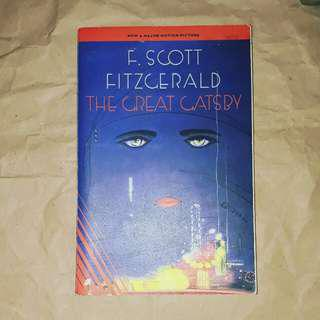 The Great Gatsby by F. Scott Fitzgerald (trade paperback)