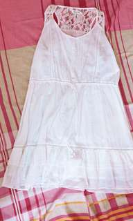 Original Aeropostale white dress xl