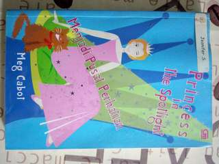 Novel Princess Diary indonesian version