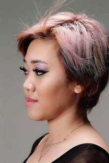 Professional makeup artist service