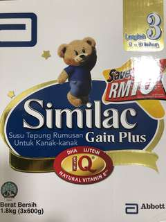 Similac Stage 3 1.8kg box refill