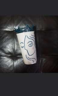 🚚 Starbucks crown lid anniversary mug
