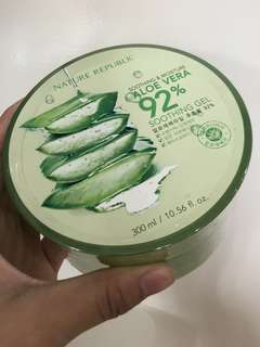 NATURE REPUBLIC ALOE VERA GEL ORIGINAL KOREA 100%