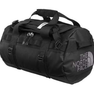 THE NORTH FACE BASE CAMP DUFFEL DUFFLE BAG   BACKPACK   HAVERSACK   EXTRA SMALL  Color : TNF BLACK