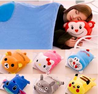 2 IN 1 PILLOW BLANKET