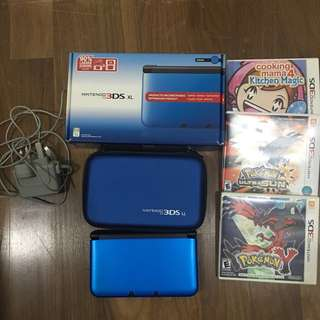 Nintendo 3DS XL + 3 games