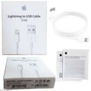 GENUINE Apple Lightning Cable 1 meter- free mailing