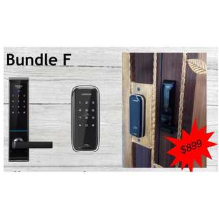 Special Bundle Digital Door Lock Schlage S6000 (Door) + Loghome 300MG (Gate)