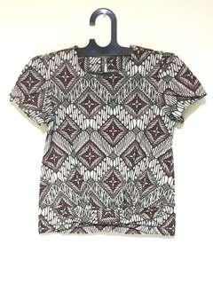 Batik Crop Top