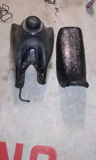 Xr400 tank and seat