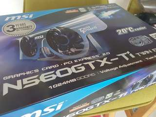 Msi 560gtx twin frozr in box