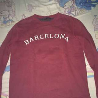 Barcelona sweater (red)
