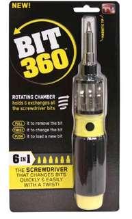 SNAKE bit 360 Screwdriver 6合1多功能旋轉 螺絲批 轉刀快速切換伸縮 easy change quick twist