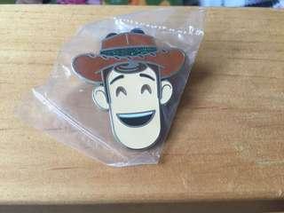 Disneyland Pin 徽章 Emoji Woody