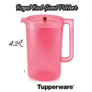 Tupperware Giant Pitcher