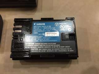 Original LP-E6 Canon Battery