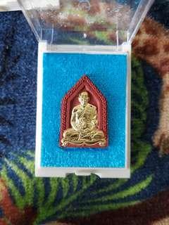 Thai Amulet Wat Banrai Lp Thong Amulet Be2560