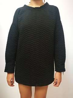 Quilted Black Long Sleeves