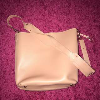 Pink Bag with Strap