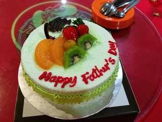 Cake pandan 123