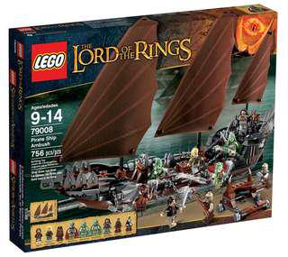 Lego 79008 - LOTR Pirate Ambush Ship