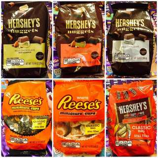 Hershey' Nuggets & Kisses classic bag