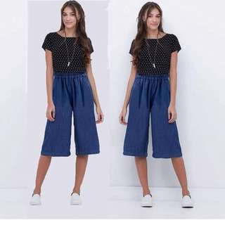 🌷Korean stripe dress ( patch floral design )  🌻Cotton    💐one color ( navy blue )  🌷fit S to L (One Size) 🎀Good Quality 💕
