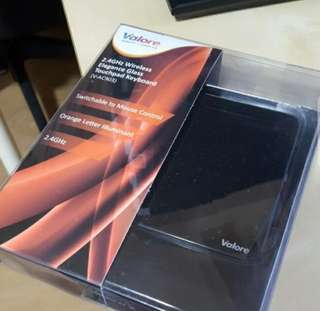 Valore glass touch pad