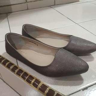 Flatshoes Fladeo Coklat