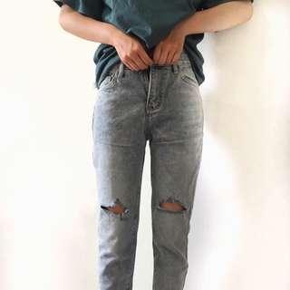 🚚 2洞男友褲