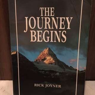 The Journey Begins by Rick Joyner Christian Book